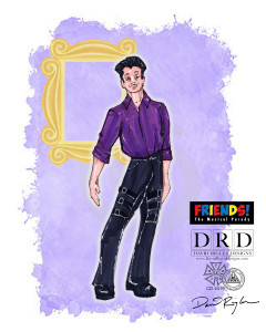 Friends Musical_Costumes_Ross Leather Pants