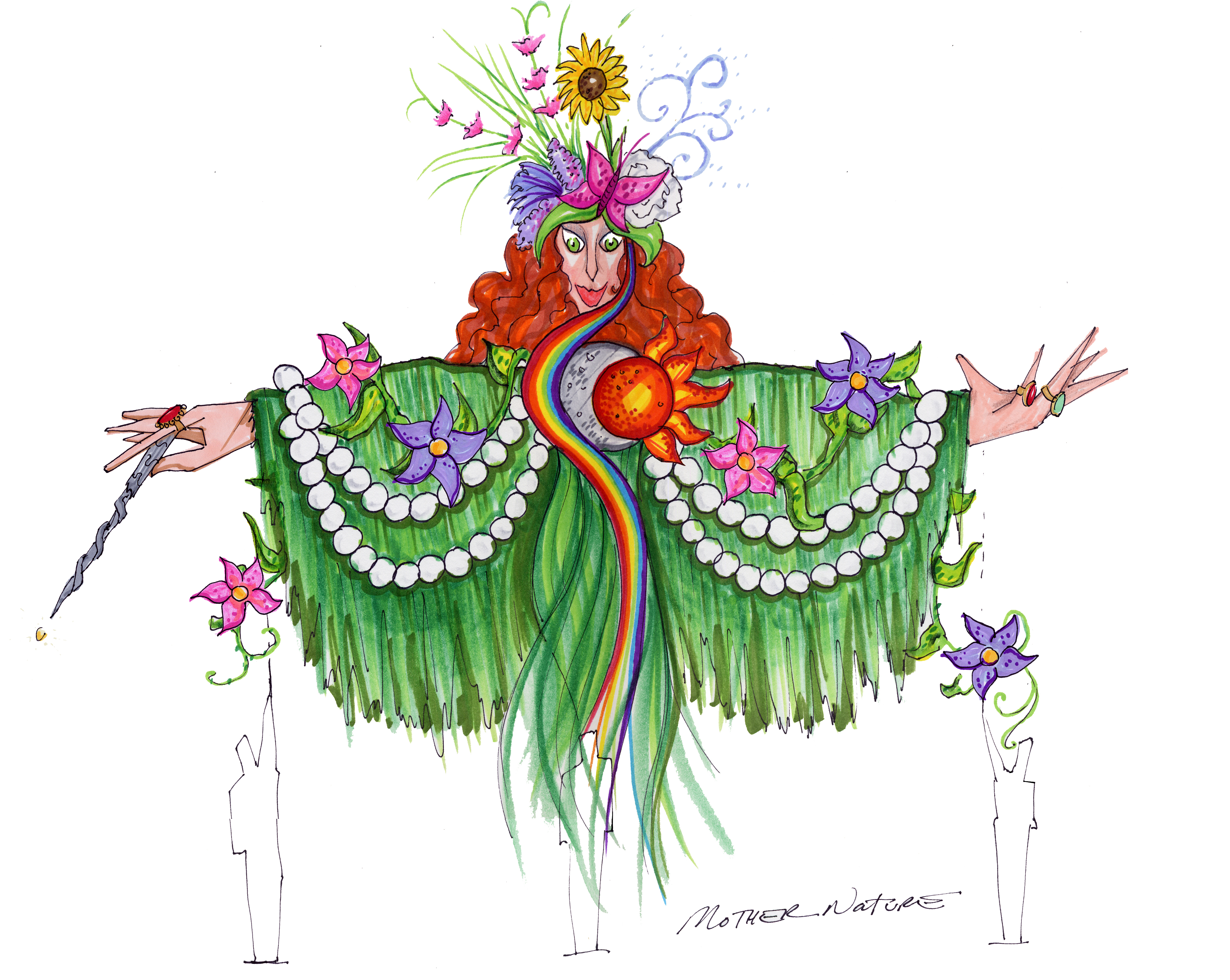 Mardi Gras: Mother Nature