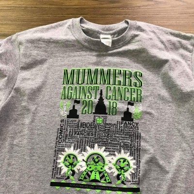 Mummers Against Cancer, 2018