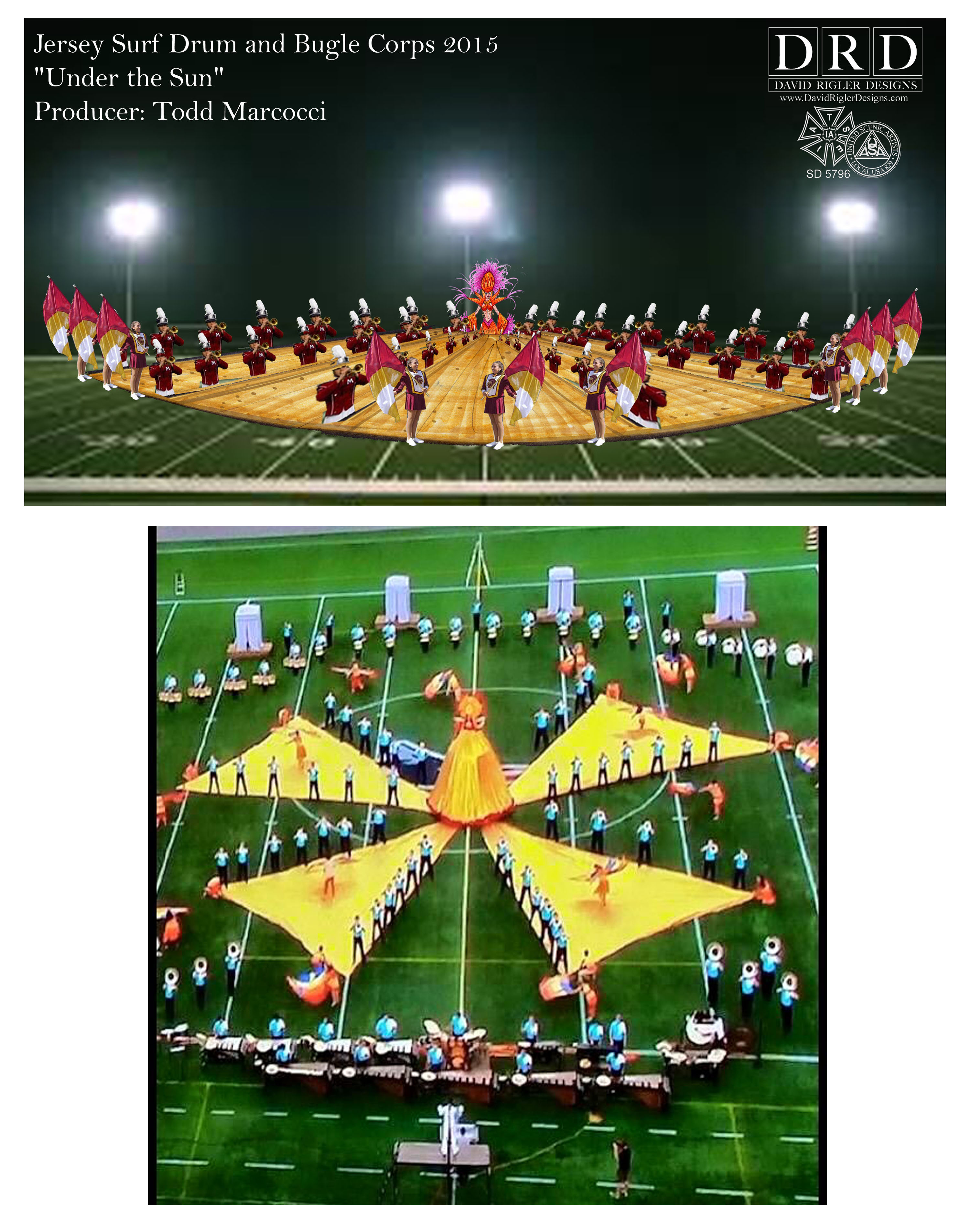 Jersey Surf, DCI